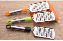 1PC Stainless Steel Cheese Butter Grater Potato Vegetable Slicer Manual Kitchen Accessories Cooking Tools Pastry Tool KX 253