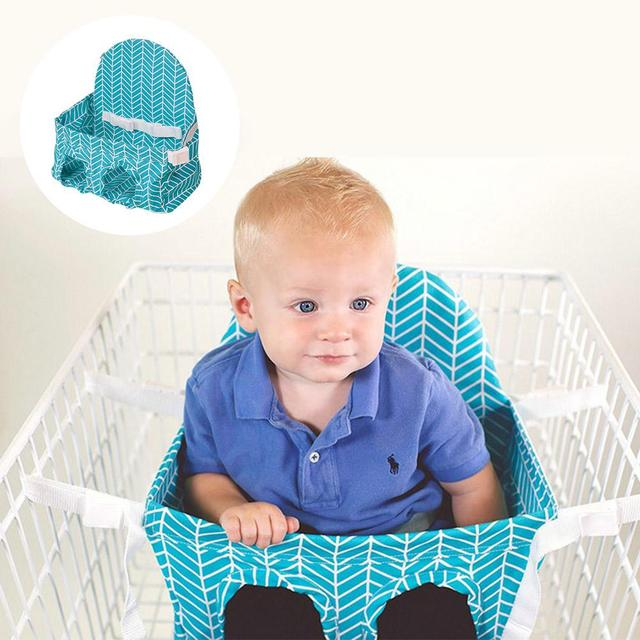 Baby Shopping Cart Seat Hammock Supermarket Shopping Cart Baby Seating Guard Portable Child Chair Safety Seats