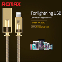 Remax USB Cable For IPhone 7 6 6s Plus Se 5 5s IPad Air Mini Spring
