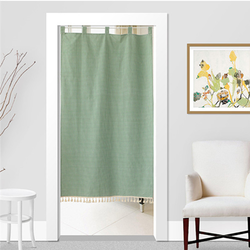 Japan Style Cotton Linen Door Curtain Noren Tapestry Dressing Room Partition Curtain Kitchen/Bathroom Divider