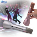 Hot Sales K088 Wireless Microphone microfone with Mic Speaker Condenser Mini Karaoke Player KTV Singing Record for Smart Phones