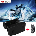 Head Mount CardBoard VR Box Virtual Reality 3D Movies Games Glasses 3.5-6.0 inch For Samsung S5 S6 Edge+ Note 5 AC298