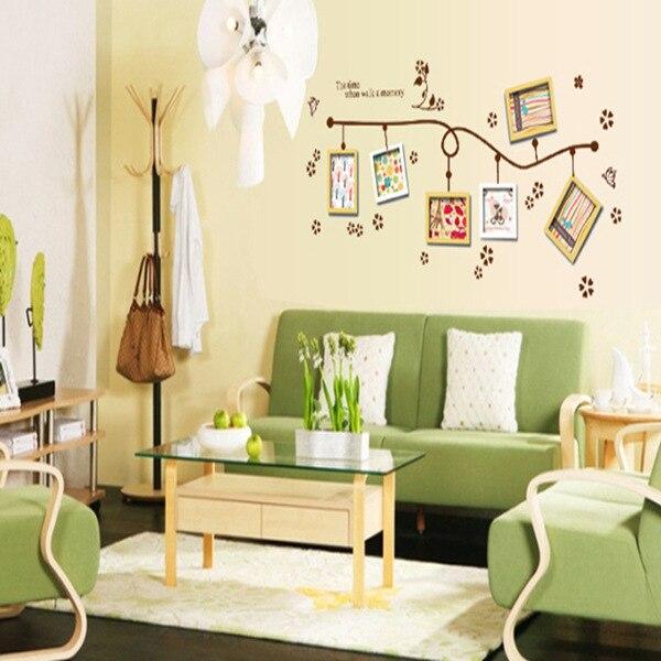 Romantico Photo Frame Wall Stickers Decorazione Della Casa Camera Da ...