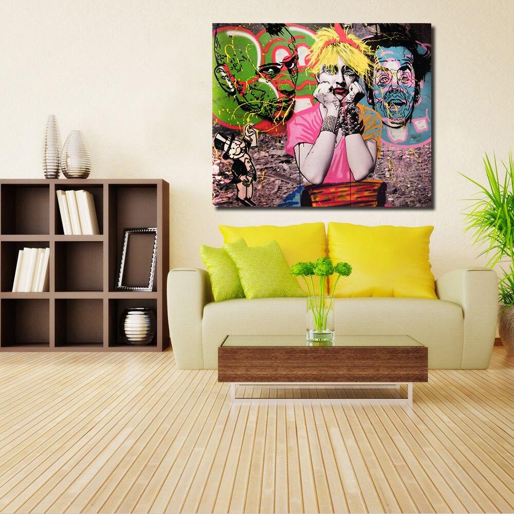 Graffiti art home decor - Graffiti Interiors Home Art Murals And Decor Ideas