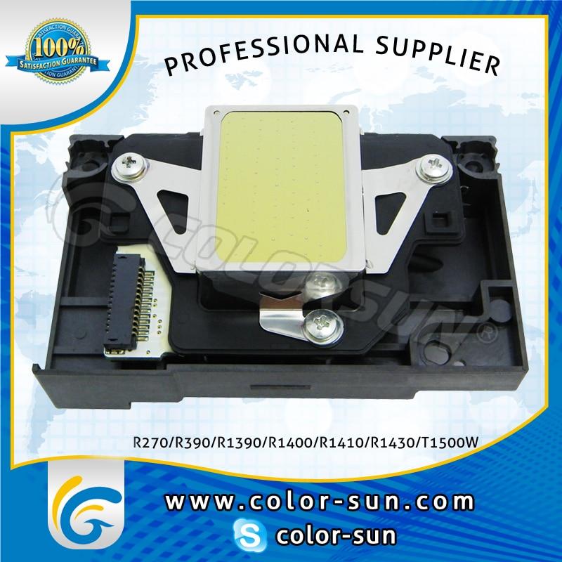 Original printer head print head for Epson R270/R390/R1390/R1400/R1410/R1430/T1500W printer 1 set original and new ink pump for epson r1400 r1390 r1410 r1430 me1100 printer 1400 1390 1410 1430 cap station