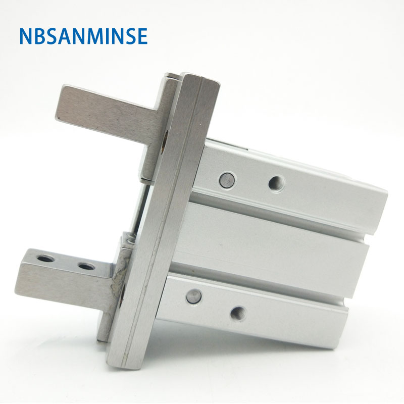 NBSANMINSE Pneumatic Gripper Parallel Style Air Gripper MHZ2 SMC Type Compress Air Cylinder Automation PartsNBSANMINSE Pneumatic Gripper Parallel Style Air Gripper MHZ2 SMC Type Compress Air Cylinder Automation Parts