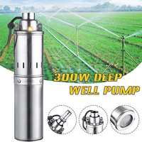 Solar Water Pump DC Deep Well Electric Submersible Pump for Fountain Garden Agricultural Pump for Water Oil Diesel Fuel 48V/60V