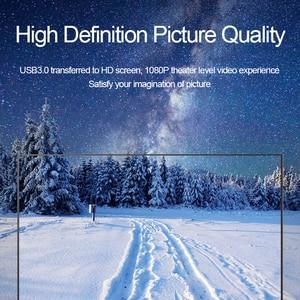 Hagides USB 3,0-HDMI VGA адаптер 4K HD 1080P мульти-дисплей 2в1 USB-HDMI конвертер аудио-видео кабель для компьютера Macbook
