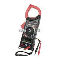 ЖК-дисплей Дисплей мультиметр AC DC Электронные Тестер Цифровой клещи красные, черные DT-266