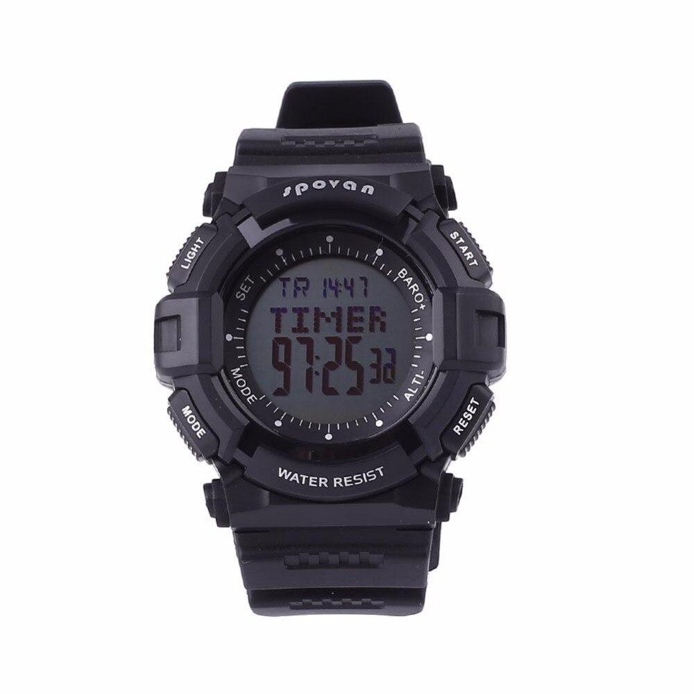 SPOVAN Men font b Digital b font Sports Watch font b Outdoor b font Wristwatch Waterproof