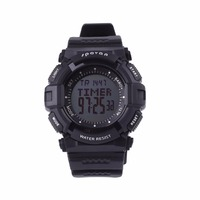 SPOVAN Men Digital Sports Watch Outdoor Wristwatch Waterproof Altimeter Weather Forecast LED Backlight Stopwatch Compass