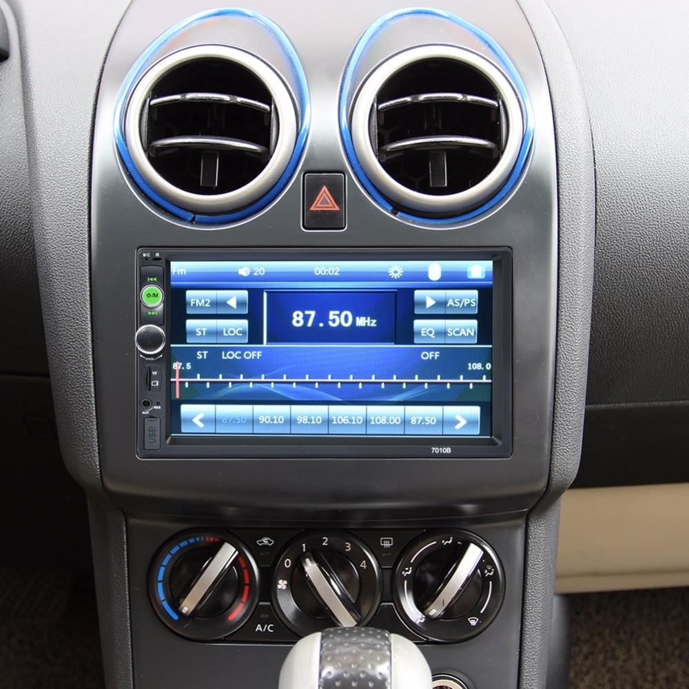 プレーヤータッチスクリーンの自動オーディオステレオマルチメディア FM/MP5/USB/AUX 車ラジオ車 倉庫を洗う 15