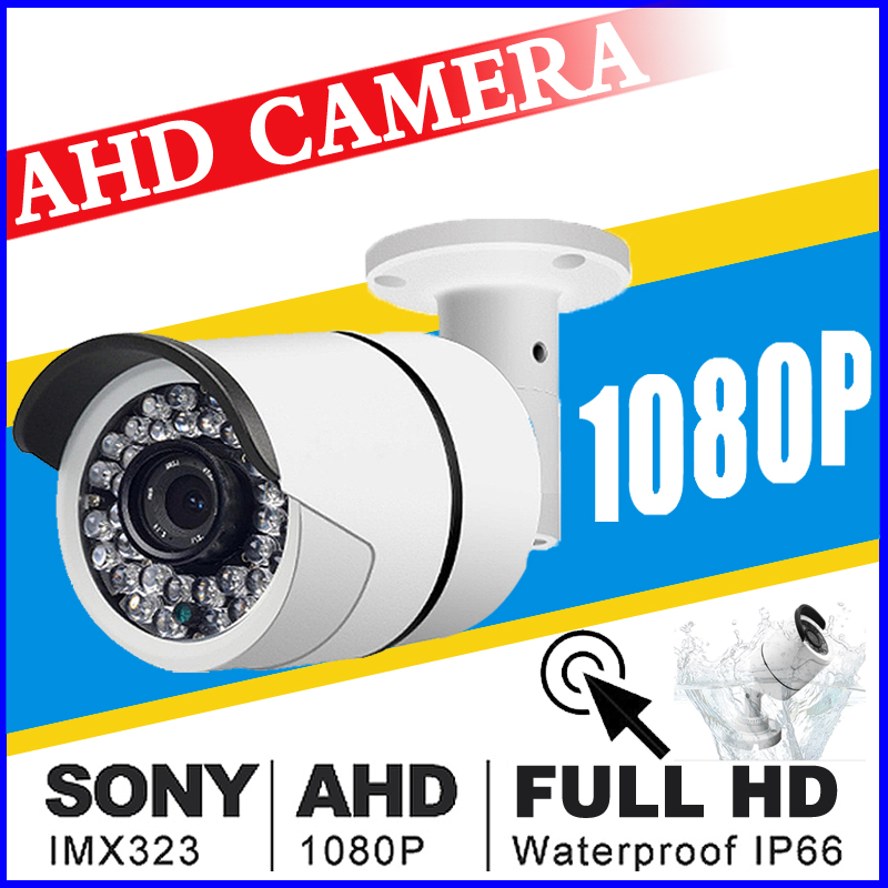 SALE 2018New Style 720P/960P/1080P 1.0MP 2.0MP FULL HD AHD CCTV Camera 36led Outdoor IP66 Infrared Bullet Analog color Vidicon wistino cctv camera metal housing outdoor use waterproof bullet casing for ip camera hot sale white color cover case