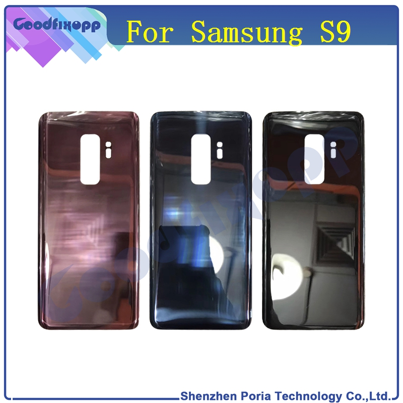 Phone Housing For Samsung Galaxy S9 <font><b>G960</b></font> G960F Rear Battery <font><b>Back</b></font> Door Cover Housing For Samsung Galaxy S9 Case S9 Glass Cover image
