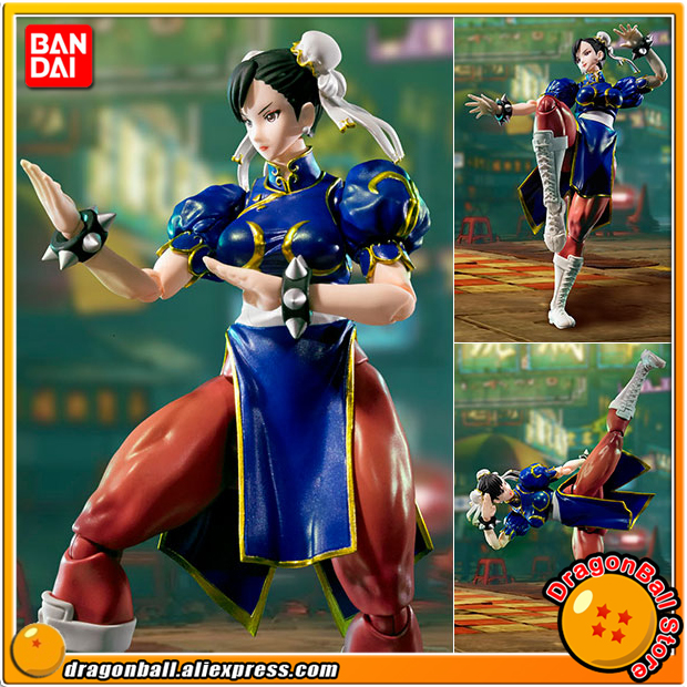 Japan Anime Street Fighter Original BANDAI Tamashii Nations SHF/ S.H.Figuarts Action Figure - Chun Li 100% original bandai tamashii nations s h figuarts shf action figure chun li from street fighter