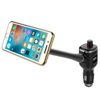 VODOOL Car Bluetooth FM Transmitter MP3 Player Auto USB Charger Magnetic Phone Holder Car Styling Accessories
