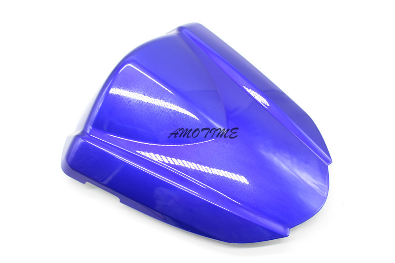 For Suzuki GSXR 1000 GSXR1000 GSXR 1000 K7 2007 2008 Rear Seat Cover Cowl,solo racer scooter seat Motorcycle 07 08 blue