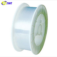 FUMAT 2700m/Roll 0.75mm diameter PMMA Plastic Fiber Optics Cable Sparkle End Glow Ceiling Party For Decoration Lighting DIY