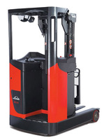 Linde new 1.4t 1.6t 1.8t electric forklift truck 1123 series R14 R16 R18 stand on electric reach trucks 1.4ton 1.6ton 1.8ton