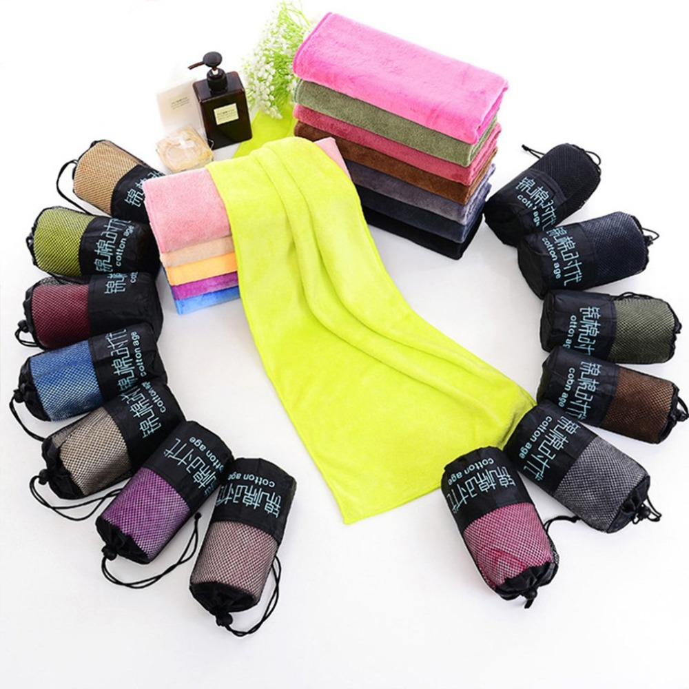 Ultra-fine Fibre Fast-drying Sports Towel Microfiber Towel Gym Sport Footy Travel Camping Hiking SwimmingUltra-fine Fibre Fast-drying Sports Towel Microfiber Towel Gym Sport Footy Travel Camping Hiking Swimming