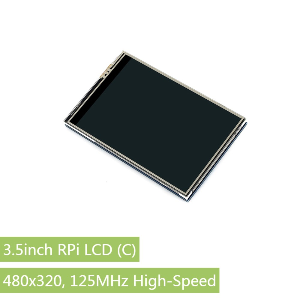 Waveshare  3.5 Inch TFT LCD Display Touch Screen Monitor Tablet  Designed For Raspberry Pi,  480x320,125MHz High-Speed SPI