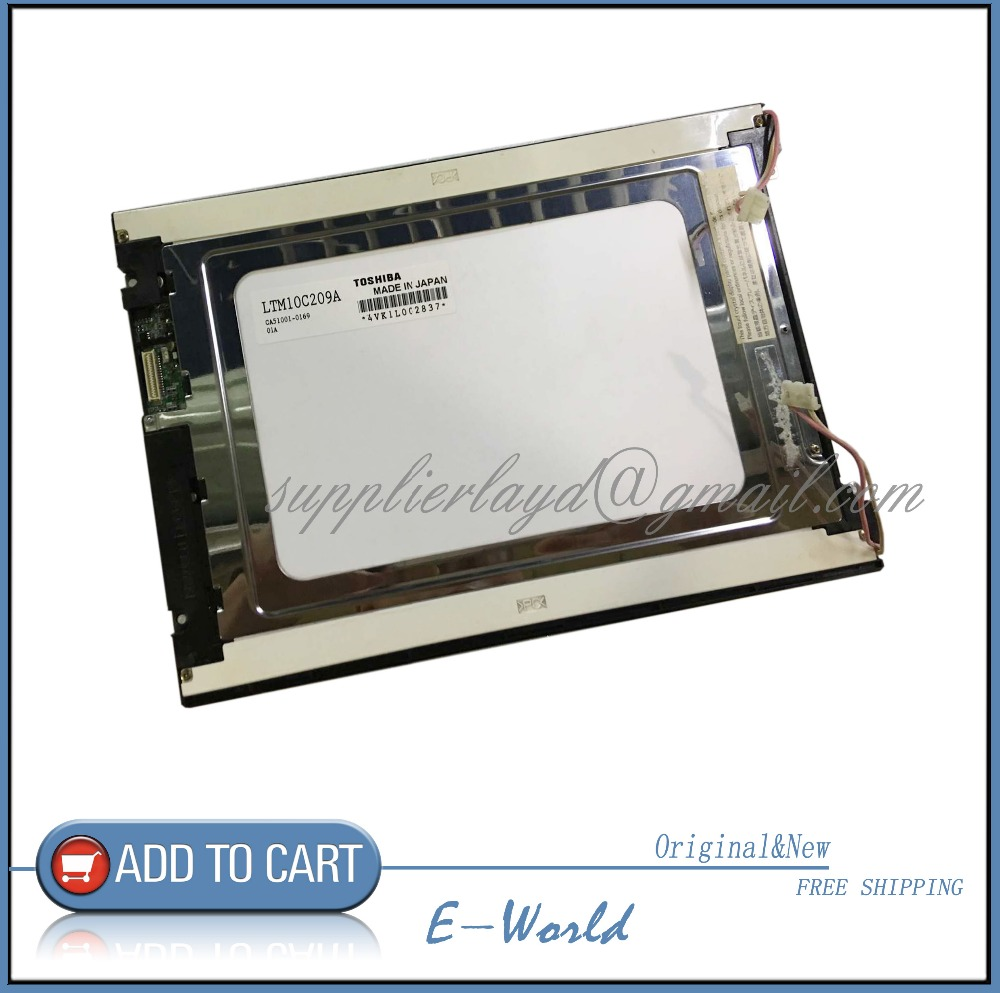 Original 10.4inch 640x480 For LTM10C209H LTM10C210 LTM10C209A LTM10C209F LTM10C209 INDUSTRIAL LCD Display Free Shipping nl6448bc33 27 10 4 inch 640 480 100