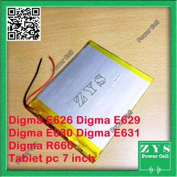 Safety Packing (Level 4) 3.7V Li-ion battery for Digma E626 Digma E629 Digma E630 Digma E631 Digma R660 tablet pc 7 inch High ca фото