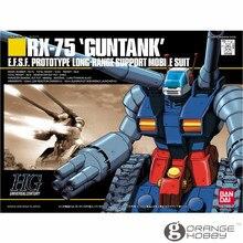 OHS Bandai HGUC 007 1/144 RX 75 Guntank Mobiele Pak Assembly Model Kits