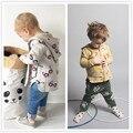 INS JACEKTS bobo choses crianças PRIMAVERA OUTONO moda bebê roupas infantis além de veludo outerwearS BEBÊ MENINO ROUPA DOS MIÚDOS ROUPAS