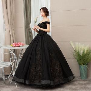 Image 2 - Mrs Win 2020 Vintage Quinceanera Jurken 4 Kleuren Kant Borduurwerk Vestidos De 15 Anos Luxe Party Prom Vestido Debutante F
