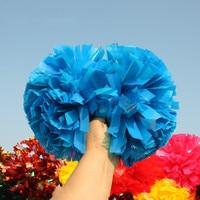 10 pcs Poms Cheerleading Pom Plástico Azul 1 000*3/4