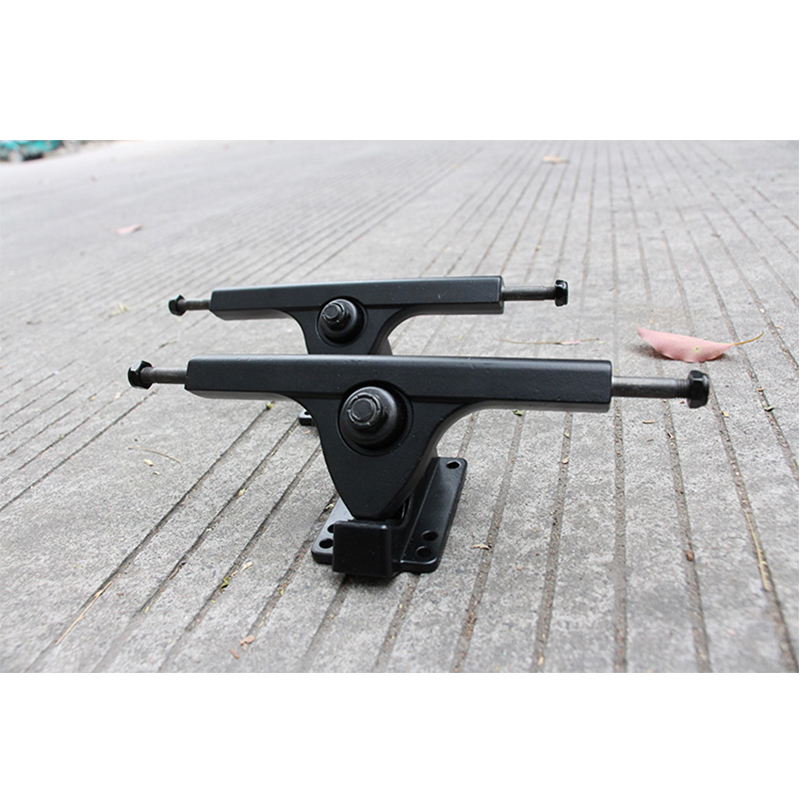2PCS 7inch 7.25inch Pairs Bears Caliber Style Longboard Truck Skateboard Truck Electrical Skateboard Parts Aluminium alloy Skate 2pcs pair skateboard parts independent 129mm truck skate aluminum skate boarding trucks for 7 4 7 75 boards