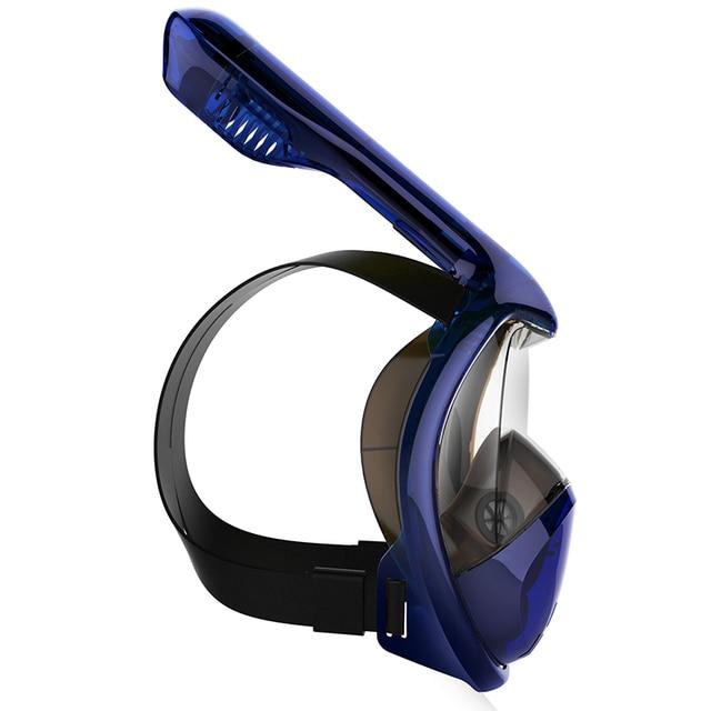 2020 Hot Diving Mask Scuba Mask Underwater Anti Fog Full Face Snorkeling Mask Women Men Kids Swimming Snorkel Diving Equipment 4