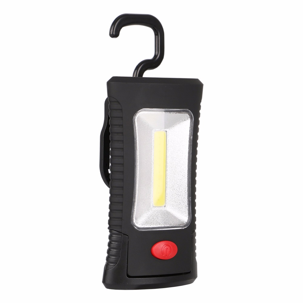 Lights & Lighting Led+cob Magnetic Working Light Tent Lamp Torch Linternas Lanterna 2 Modes Flashlight Handy Lighting Use Aaa For Outdoor Camping Non-Ironing Led Flashlights