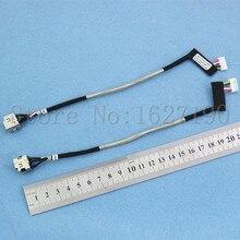 цены на 5pcs/lot NEW DC301004L00/PJ064 DC Jack Cable for HP DV4 Series with cable DC Connector Laptop Socket Power Replacement  в интернет-магазинах