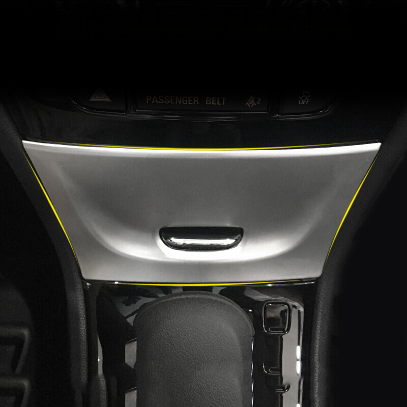 Fit For Opel Mokka Buick Encore Car Cigarette Light burner panel cover trim ABS Chrome car accessories styling