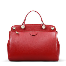 Genuine Leather Luxury Handbags Women Bags designer Shoulder bags for women 2018 Vintage Cross body Messenger Bag