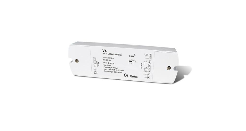 Kraftvoll 5ch 4a Konstante Spannung Rf 2,4g Receiver V5 Produkte Werden Ohne EinschräNkungen Verkauft Licht & Beleuchtung