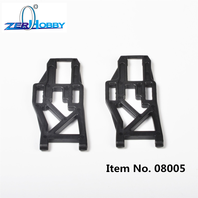 RC CAR SPARE PARTS FRONT REAR LOWER SUSPENSION ARM FOR HSP 1 10 OFF ROAD MONSTER 94211 94111 part no 08005 08006 in Parts Accessories from Toys Hobbies