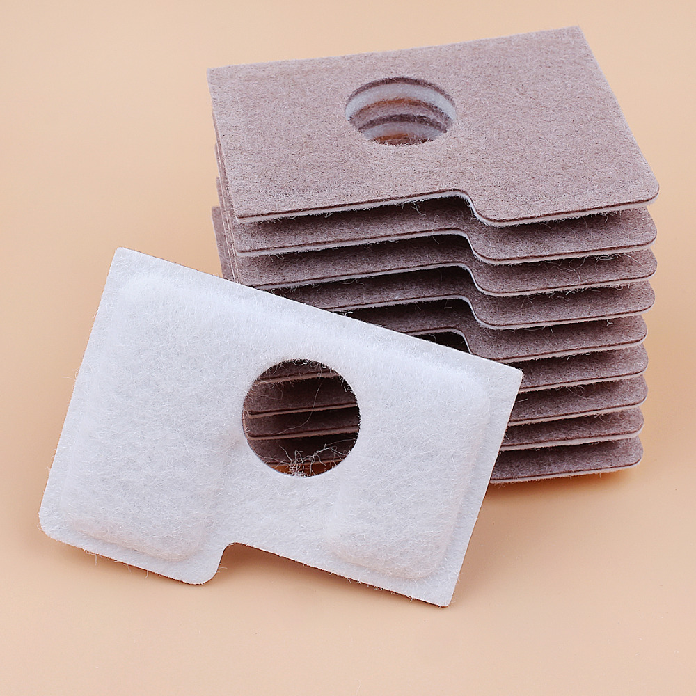 10Pcs/lot Air Filter For STIHL MS180 MS 180 MS180C MS170 018 017 Gasoline Chainsaw Parts Double Layer High Quality 1130 124 0800