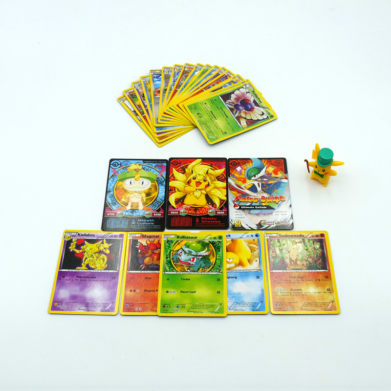 Hot sale 2017 New 25Pcs/Box Pokemon Cards English XY EPIC Card Trading Collection Games Figures Carte Pokemon Go Toys