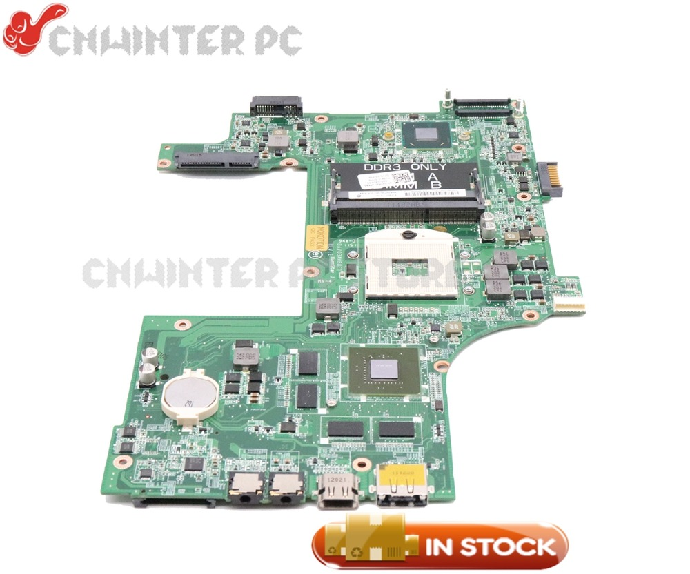 NOKOTION DAV03AMB8E0 CN-037F3F 037F3F MAIN BOARD For Dell Inspiron 17R N7110 Laptop Motherboard HM67 DDR3 GT555M 1GB