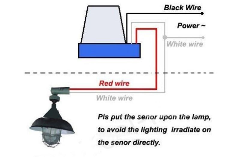 street light photocell wiring diagram - wiring diagram,
