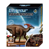 Assembling Dinosaur Skeleton Archaeological Excavation Toy Simulation Fossil Museum Science Educational Dinosaur Toys Kids Gift