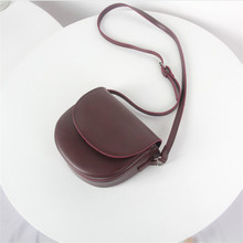 Новая Студенческая Ретро британская ветровая косая сумка арт девушка простая повседневная седельная сумка