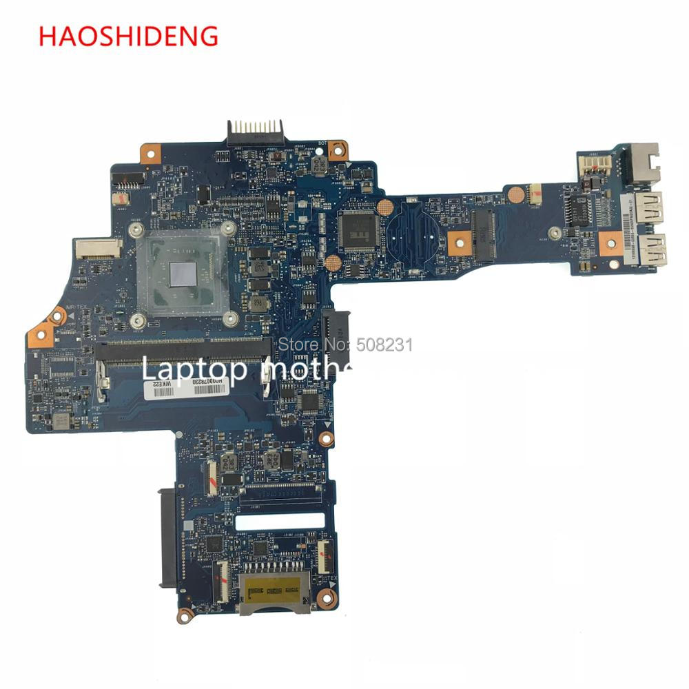 HAOSHIDENG H000078230 CA10BM Main Board for Toshiba Satellite C40-B series motherboard with N2830.fully Tested интегральная микросхема 10 ic ad8616ar 8 8 soic