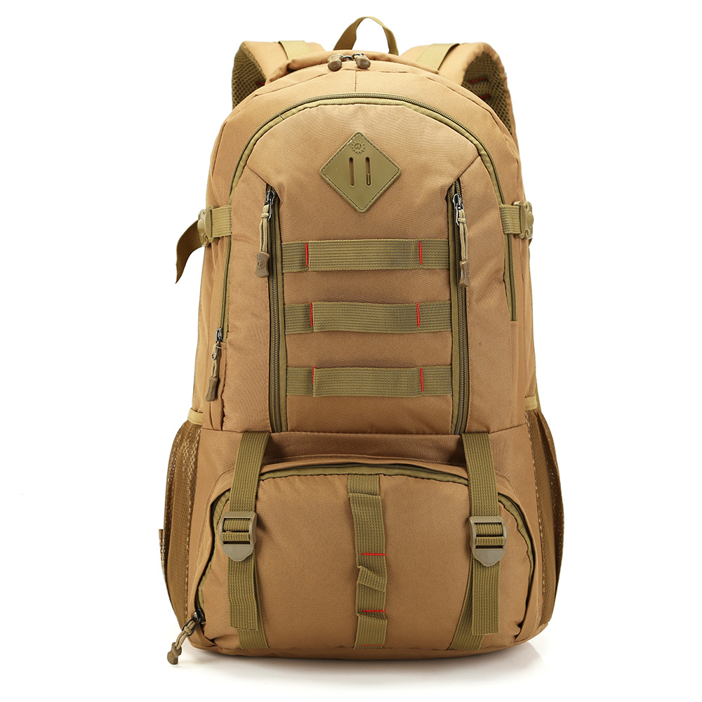 50L Outdoor Waterproof Molle Tactical Bag Army Military Backpack Mountaineering Rucksack Hunting Fishing Backpack Sports Bag