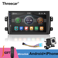 9'' 2din Car Radio Player for Suzuki SX4 2006 2016 Mirrorlink Android 9.0 iphone Bluetooth Car Multimedia MP5 Player No Android