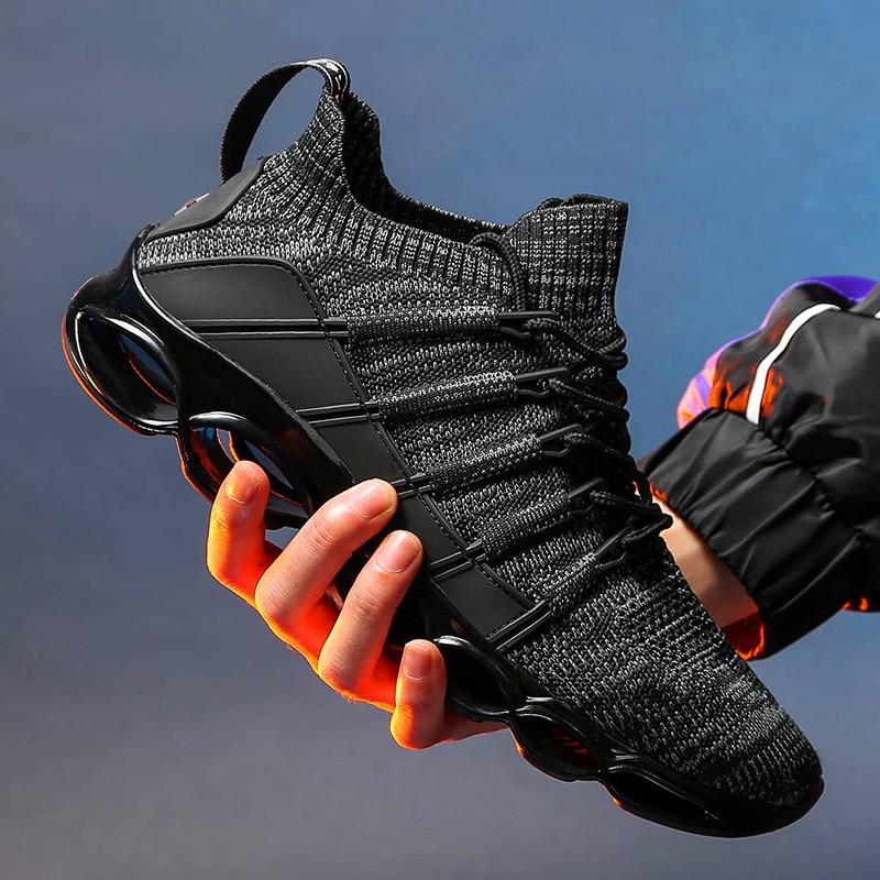 รองเท้าผ้าใบกลางแจ้งใหม่มาถึงผู้ชายรองเท้าสบายๆแฟชั่นฤดูร้อนฤดูใบไม้ร่วง Breathable ผู้ใหญ่ ...