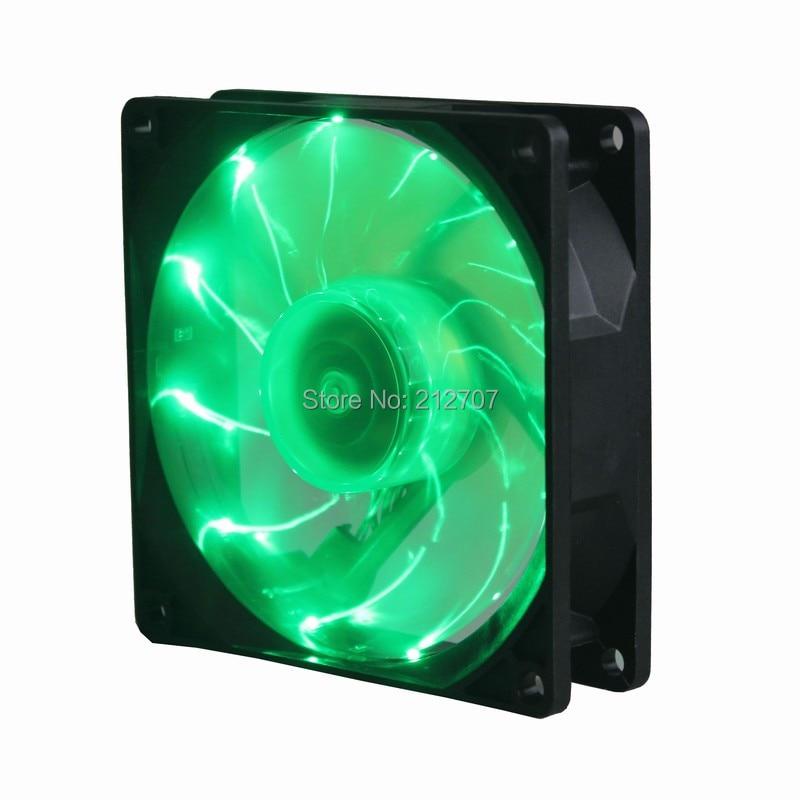 92mm led fan green 2